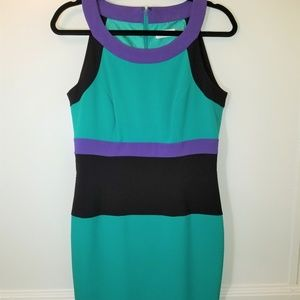 Calvin Klein Sleeveless Dress Sz 8